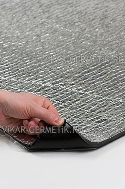 Лист ВИКАР ЛТ(фи) размер 1000х600мм толщина герметика 2мм толщина фольгоизолона 8мм