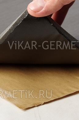 Лист ВИКАР ЛТ(и) размер 1000х600мм толщина герметика 2мм толщина изолона 2мм