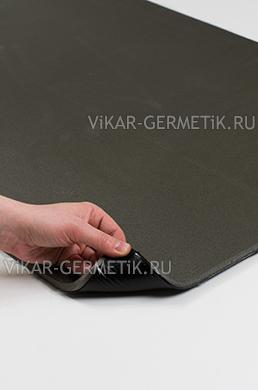 Лист ВИКАР ЛТ(и) размер 1000х600мм толщина герметика 2мм толщина изолона 8мм