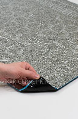 Лист ВИКАР ЛТ(пф) размер 1000х600мм толщина герметика 2мм толщина пенофола 4мм