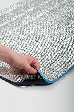 Лист ВИКАР ЛТ(пф) размер 1000х600мм толщина герметика 2мм толщина пенофола 8мм