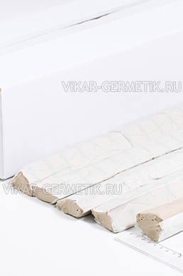 Шнур ВИКАР бутилкаучуковый СЕРЫЙ диаметр 40мм