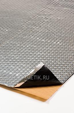 Вибролист ВИКАР ЛТ(фа) толщиной 2мм размер листа 630х600мм