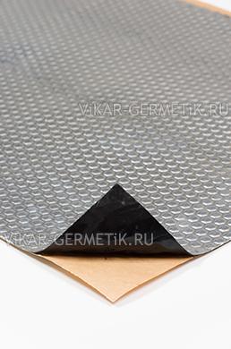 Вибролист ВИКАР ЛТ(фа)толщиной 1,5мм размер листа 760х500мм
