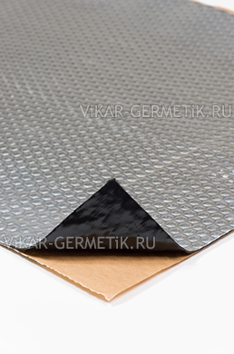 Вибролист ВИКАР ЛТ(фа) толщиной 2,3мм размер листа 760х500мм