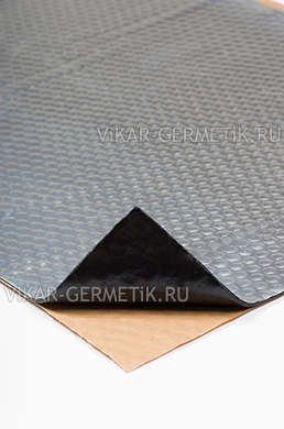 Вибролист ВИКАР ЛТ(фа) толщиной 3мм размер листа 760х500мм