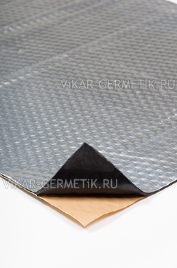 Вибролист ВИКАР ЛТ(фа) толщиной 3,5мм размер листа 760х500мм