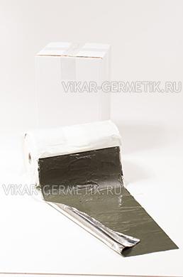 Лента ВИКАР ЛБ(м) бутилкаучуковая ширина 250мм толщина 1,5мм