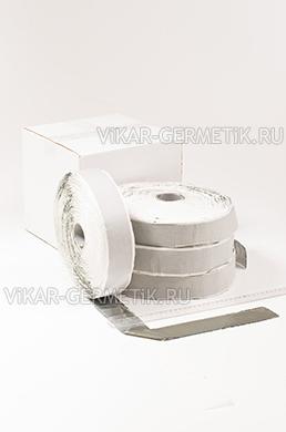 Лента ВИКАР ЛБ(м) бутилкаучуковая ширина 50мм толщина 1,5мм