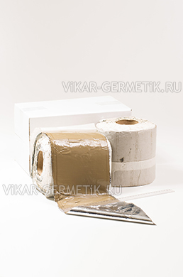 Лента ВИКАР ЛБ(м) бутилкаучуковая ширина 200мм толщина 1,5мм
