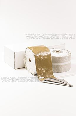 Лента ВИКАР ЛБ(м) бутилкаучуковая ширина 150мм толщина 1,5мм