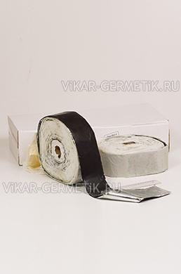 Лента ВИКАР ЛБ(м) бутилкаучуковая ширина 80мм толщина 1,5мм