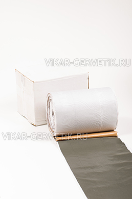 Лента ВИКАР ЛБ бутилкаучуковая ширина 250мм толщина 1,5мм