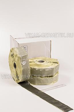 Лента ВИКАР ЛБ бутилкаучуковая ширина 60мм толщина 1,5мм