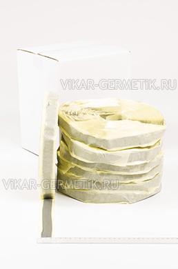Лента ВИКАР ЛБ бутилкаучуковая ширина 20мм толщина 2,5мм