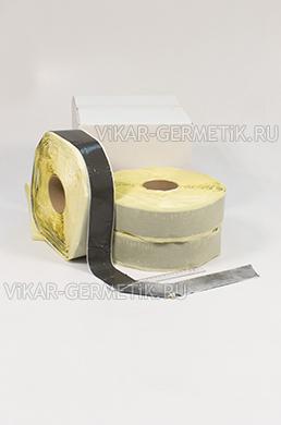 Лента ВИКАР ЛТ бутилкаучуковая ширина 60мм толщина 1,5мм