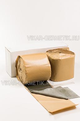 Лента ВИКАР ЛТ бутилкаучуковая ширина 200мм толщина 1,5мм