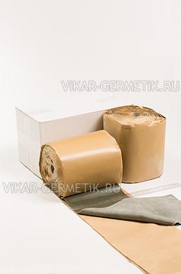 Лента ВИКАР ЛТ бутилкаучуковая ширина 200мм толщина 2мм