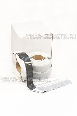 Лента ВИКАР ЛТ(фа) бутилкаучуковая на фольге ширина 50мм толщина 2мм