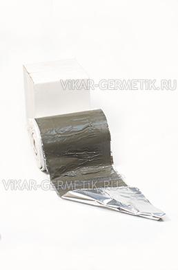 Лента ВИКАР ЛТ(фа) бутилкаучуковая на фольге ширина 250мм толщина 1,5мм