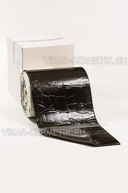 Лента ВИКАР ЛТ(и) бутилкаучуковая ширина 350мм толщина герметика 2мм толщина изолона 8мм