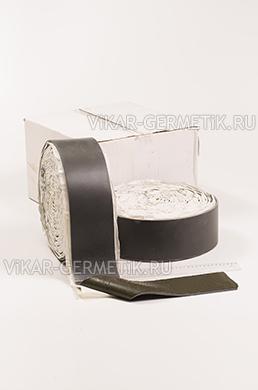 Лента ВИКАР ЛТ(и) бутилкаучуковая ширина 100мм толщина герметика 1,5мм толщина изолона 3мм