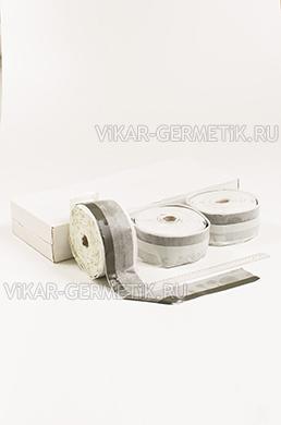 Лента ВИКАР ЛТ(о) бутилкаучуковая ширина 75мм толщина 1,5мм