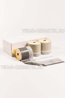 Лента ВИКАР ЛТ(о) бутилкаучуковая ширина 150мм толщина 1,5мм
