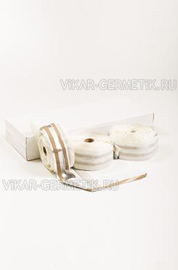 Лента ВИКАР ЛТ(ом) бутилкаучуковая ширина 75мм толщина 1,5мм